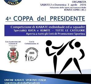 Coppa del Presidente – 03/04/2016