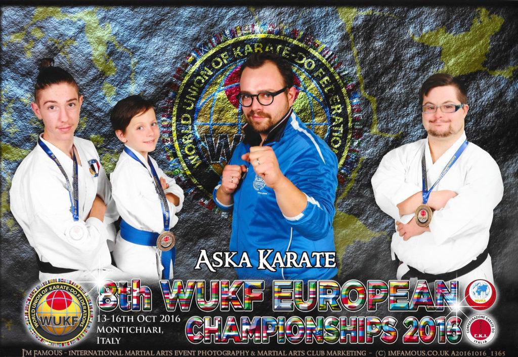 8th WUKF European Championship - Montichiari 12-16/10/2016