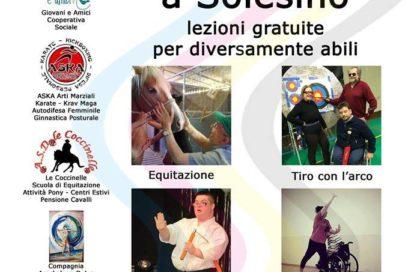 Sport x Tutti – Solesino (Pd) 20/05/2017
