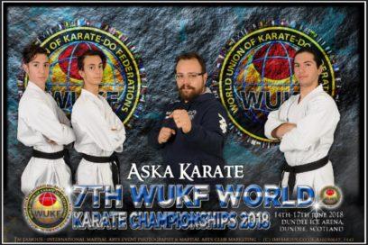 7th WUKF World Karate Championship 2018